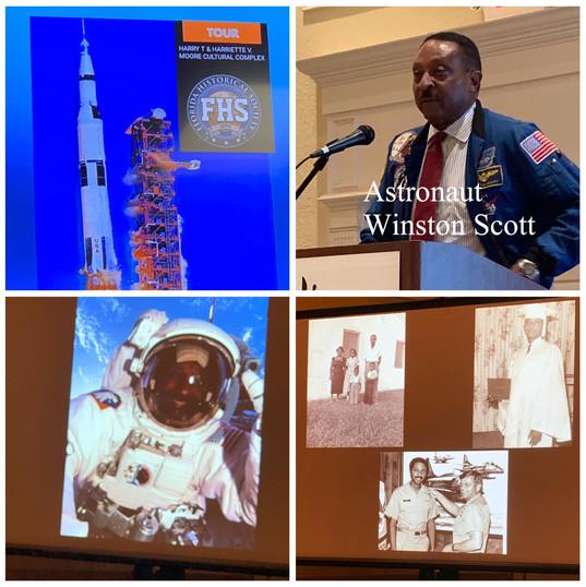Astronaut Winston Scott