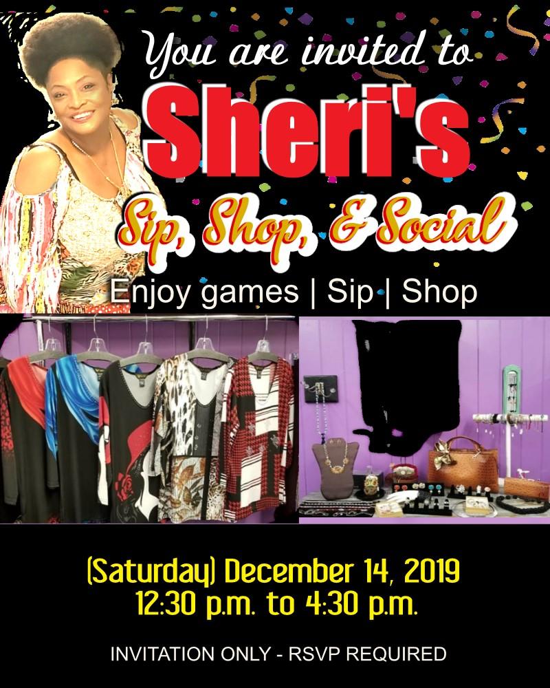 SHERI Flyer - Sip-n-Shop