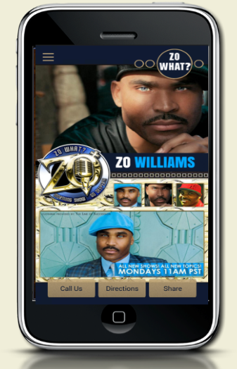 Zo Williams Mobile App
