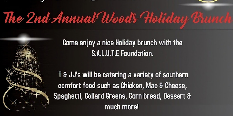Sterling Brown Presents 2nd Annual Woods Holiday Brunch