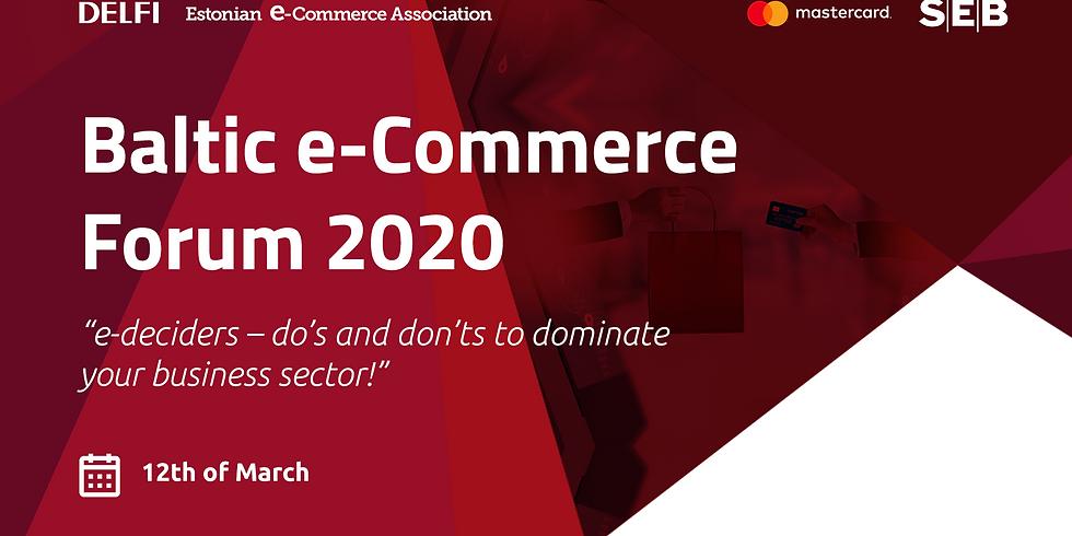 ESTONIA: Baltic e-Commerce Forum 2020