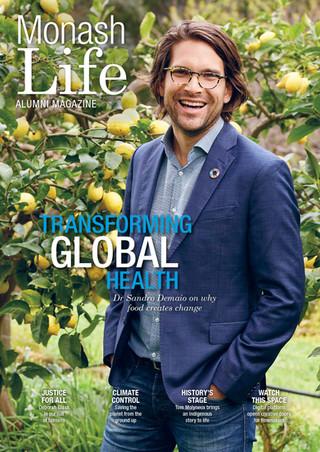 Monash Life Alumni Magazine Client: Monash University