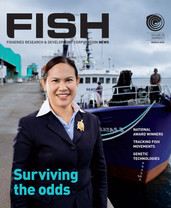 FISH Magazine Client: Fisheries Research and Development Corporation (FRDC)  Published: March 2020, in print, online and PDF, FISH app