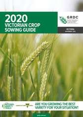 GRDC SowingGuide Victoria Client: GRDC