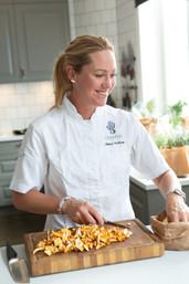 Kocken Annica Karlsson, grundare FoodFive. Fotograf Pepe Nilsson