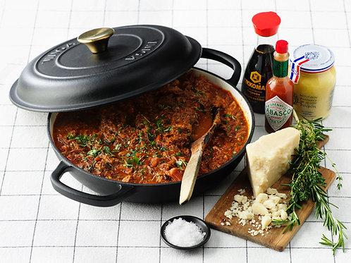 Online-kurs köttfärssås & spagetti