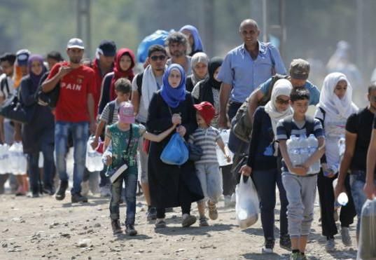 失去家園的難民