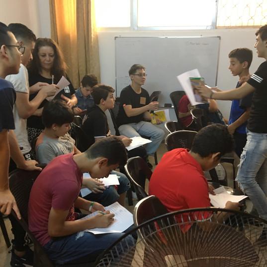 我們的英文班