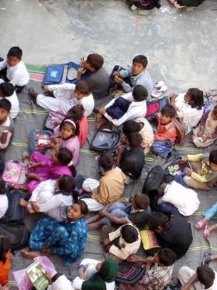 巴國興建貧困兒童學校項目