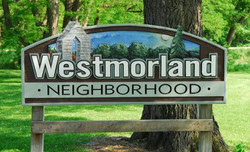 The Westmorland Playground Sign