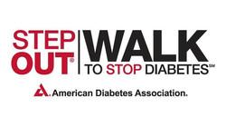Step Out Diabetes Walk Logo