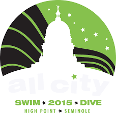 All City Swim Meet Logo