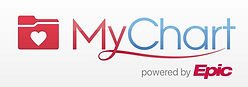 This is the MyChart logo. When clicked it leads to the MyUnityPoint website.