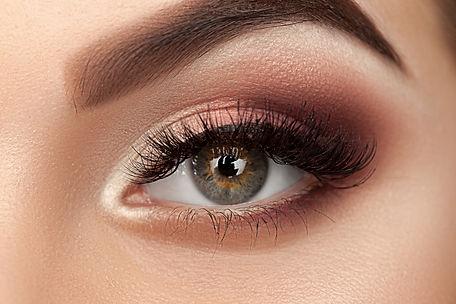 Beauty eye of woman with amazing make-up