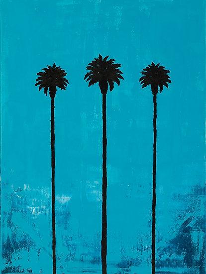 """Califorina Love Part 1"" Oil on Canvas"