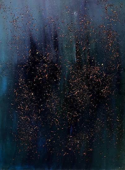 """""""World""""oil on canvas"""