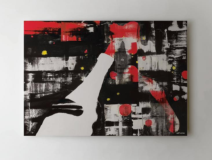 """Good Life"" Print on Canvas"