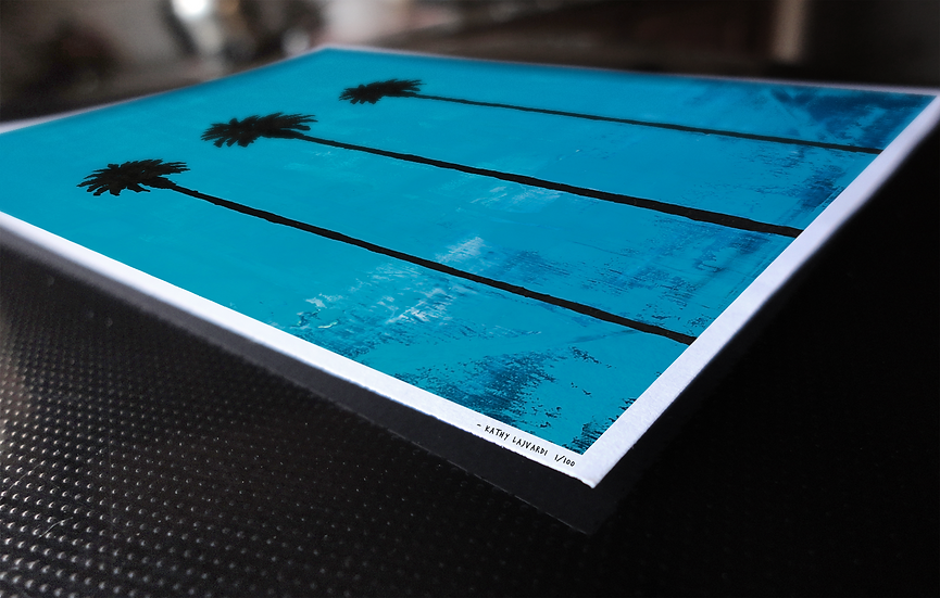 """California Love Part 1"" Print on Paper"