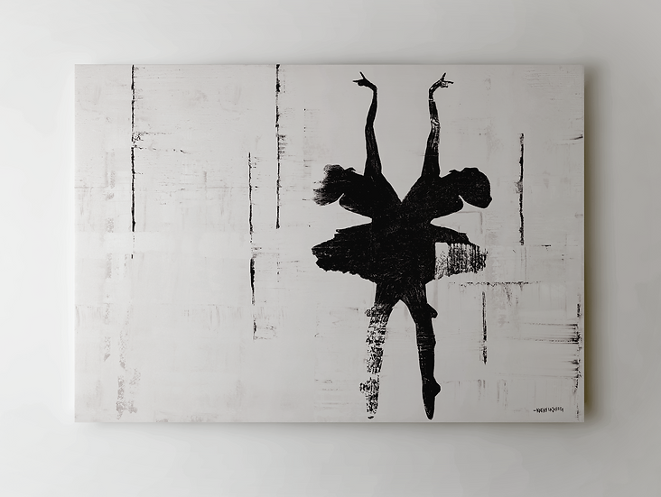 """RUNAWAY"" Print on Canvas"