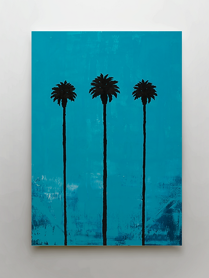 """California Love Part 1"" Print on Canvas"