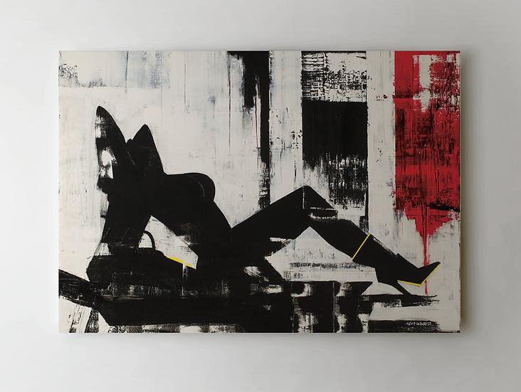 """Bound 2"" Print on Canvas"