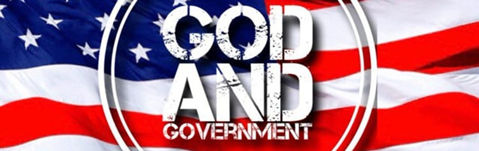 God and Government Part 1