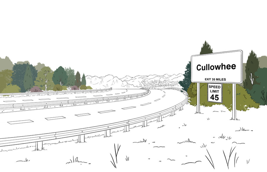 BL212_BG_EXT_HIGHWAY_WITH_DISTANT_CULLOW