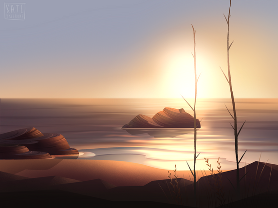 background design & paint