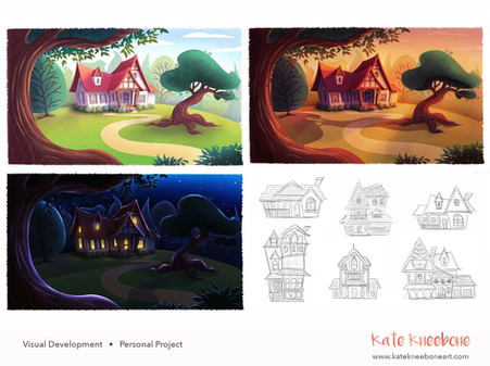Visual Development - house design