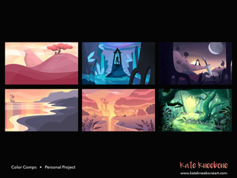 Colour comps - Personal Project