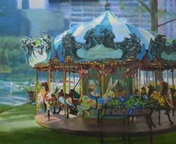 Bryant Park Carousel 004