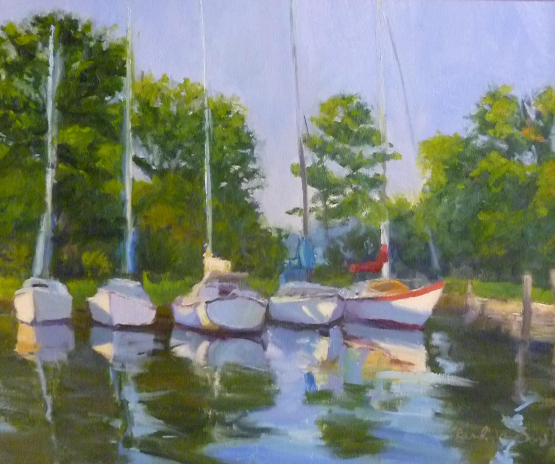 Resting in the Harbor