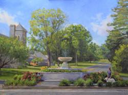 Cass Gilbert Fountain - Ridgefield, CT