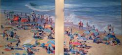 Beach Diptic