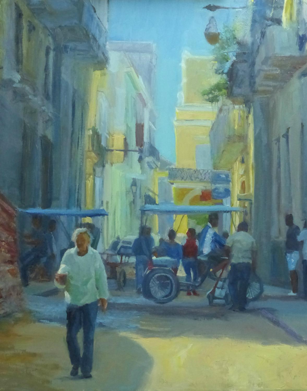 Cafe en la Habana vieja