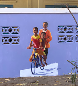 Children of Cambodia Mural