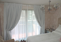 cortina pinza invertida