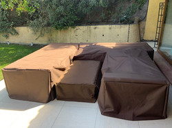 funda cobertora protectora muebles