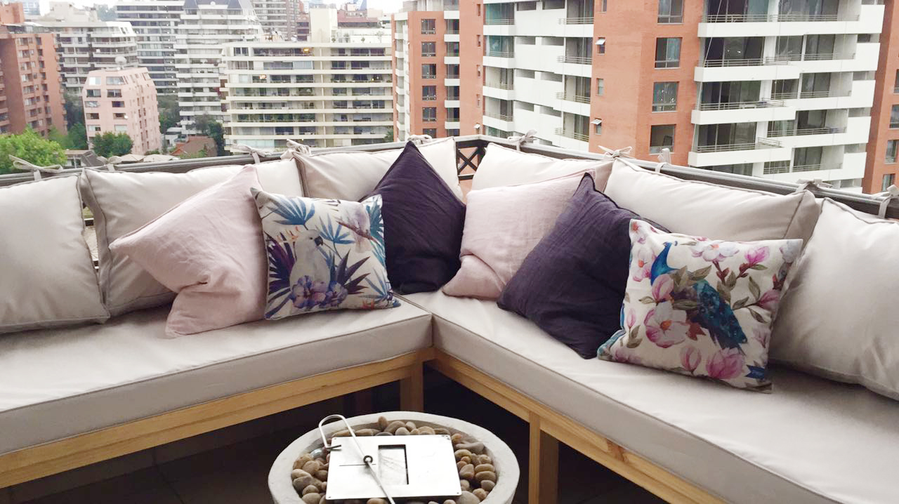 cojin terraza balcon