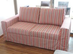 funda sofa rayas