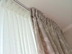 cortina visillo y diseno