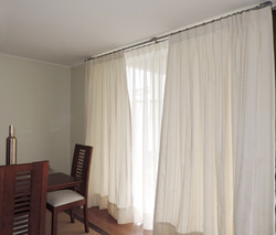 visillo y cortina