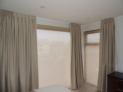 cortina blackout con textura