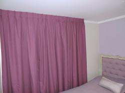 cortina blackout morado