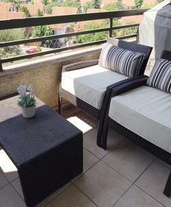 cojines terraza