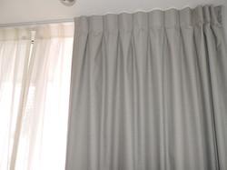 cortina blackout gris