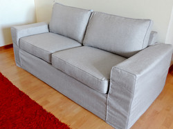 funda sofa gris