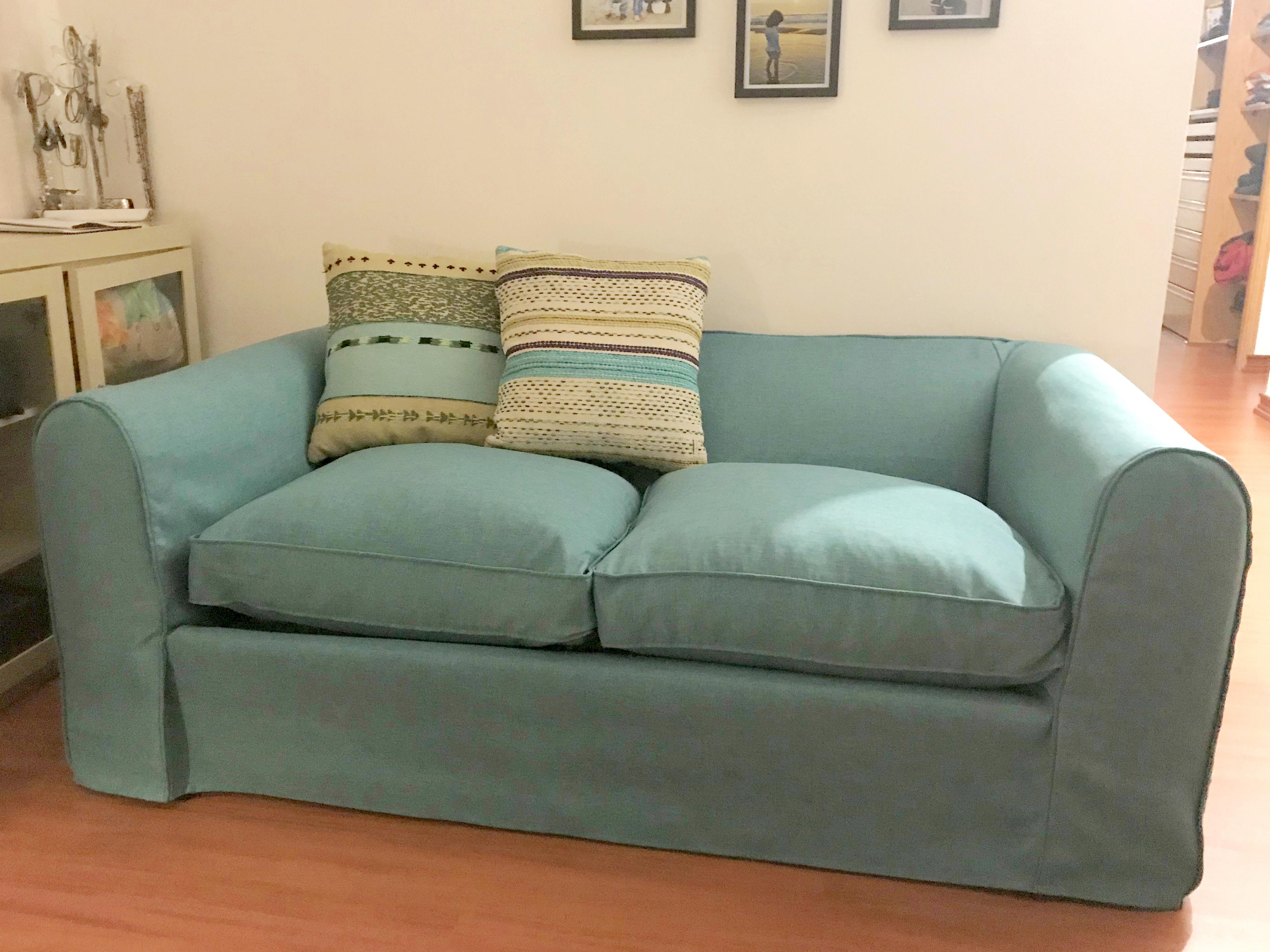 funda sofa turqueza
