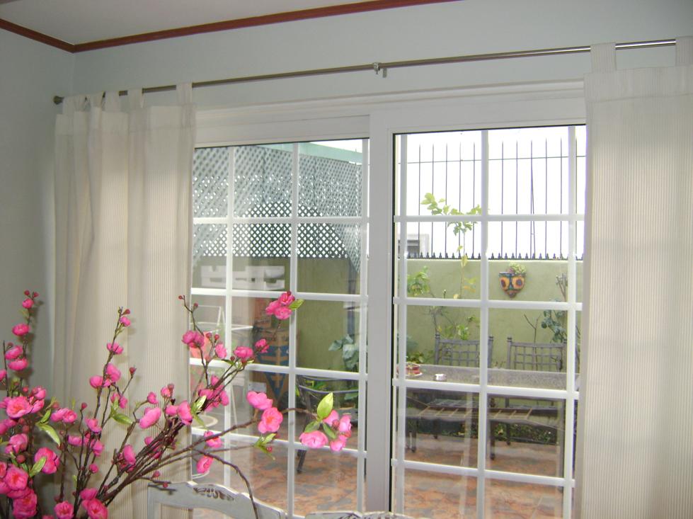 cortina con presilla