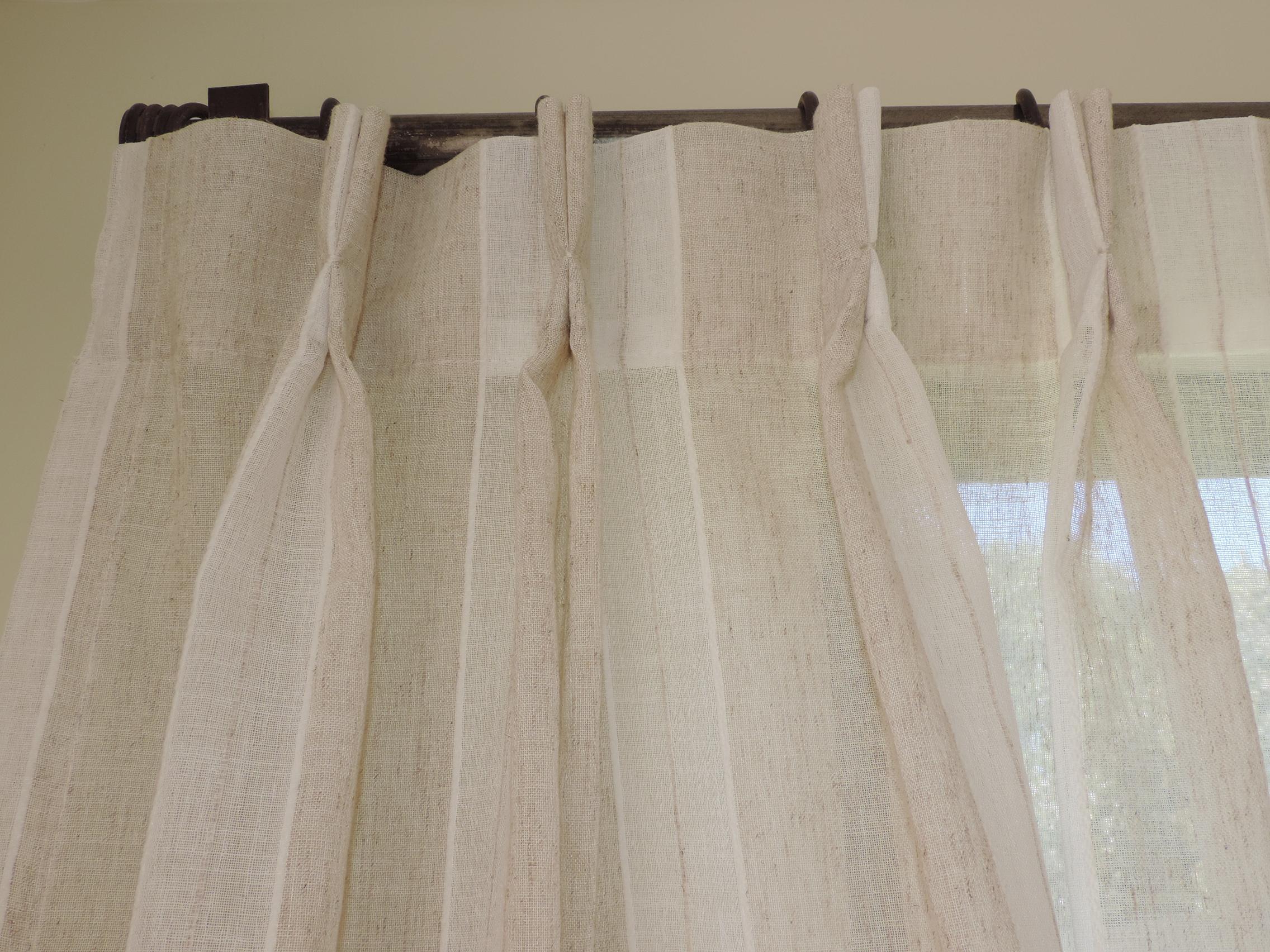 cortina pinza tradicional